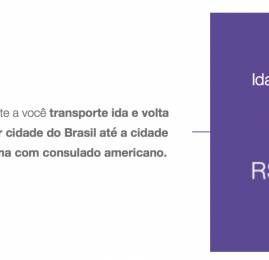 Azul oferece passagens por R$99 para quem precisar ir até um consulado americano tirar visto
