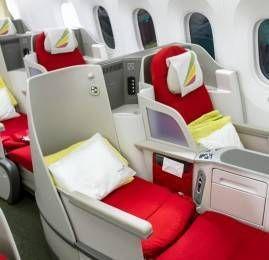 Ethiopian Airlines compra 6 novos B787's e instala flatbed nos B777's