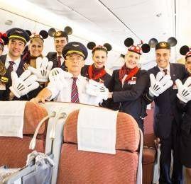 TAM inaugura voo direto entre Brasília e Orlando e surpreende passageiros no embarque