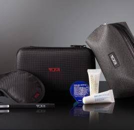 Delta melhora seu  kit de amenidades TUMI na classe Premium Delta One™