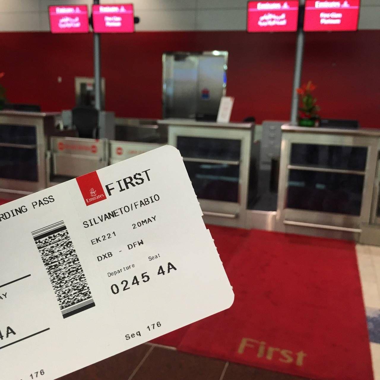 Emirates First Class Lounge Dubai -012