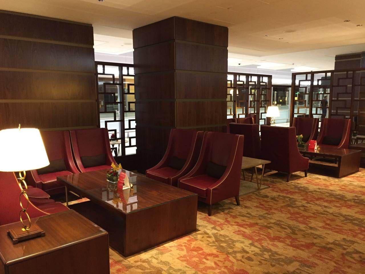 Emirates First Class Lounge Dubai -034