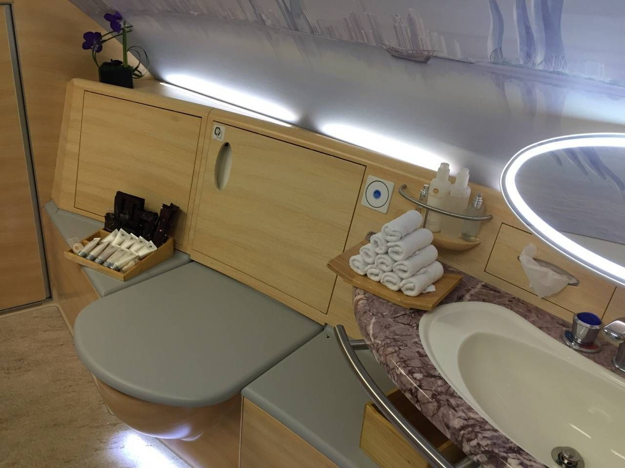 Emirates First Class PVG-DXB-050