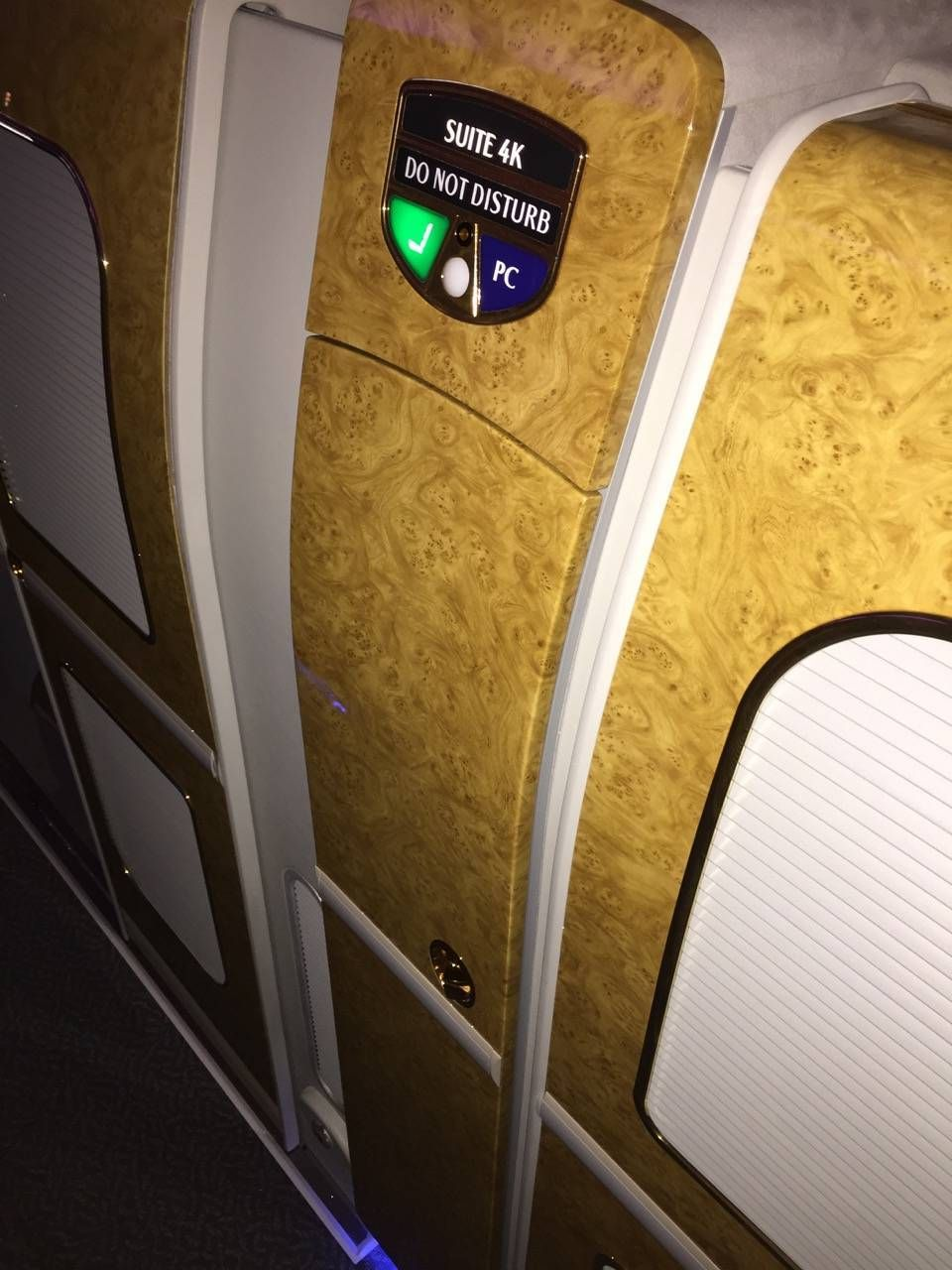 Emirates First Class PVG-DXB-055