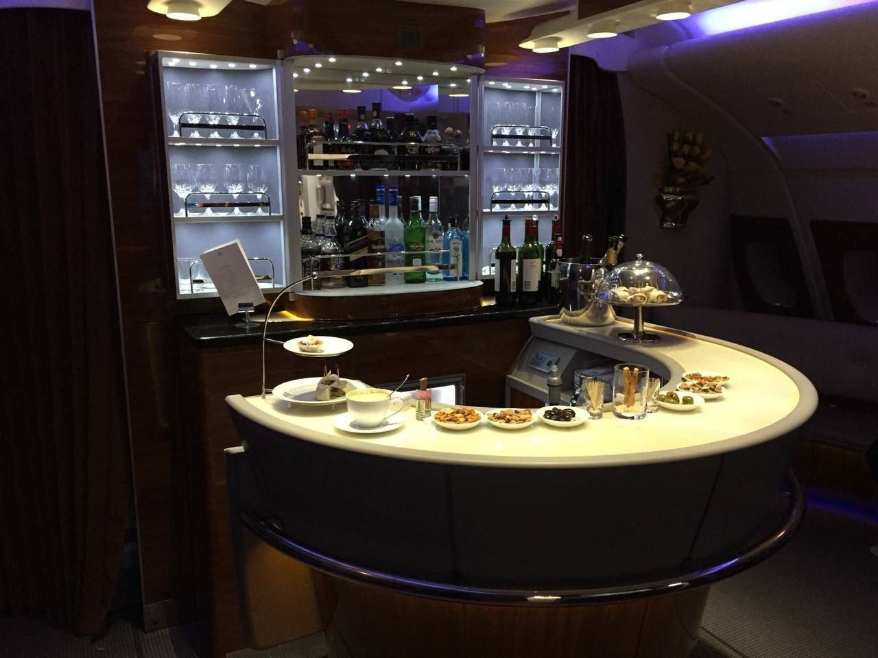 Emirates First Class PVG-DXB-063