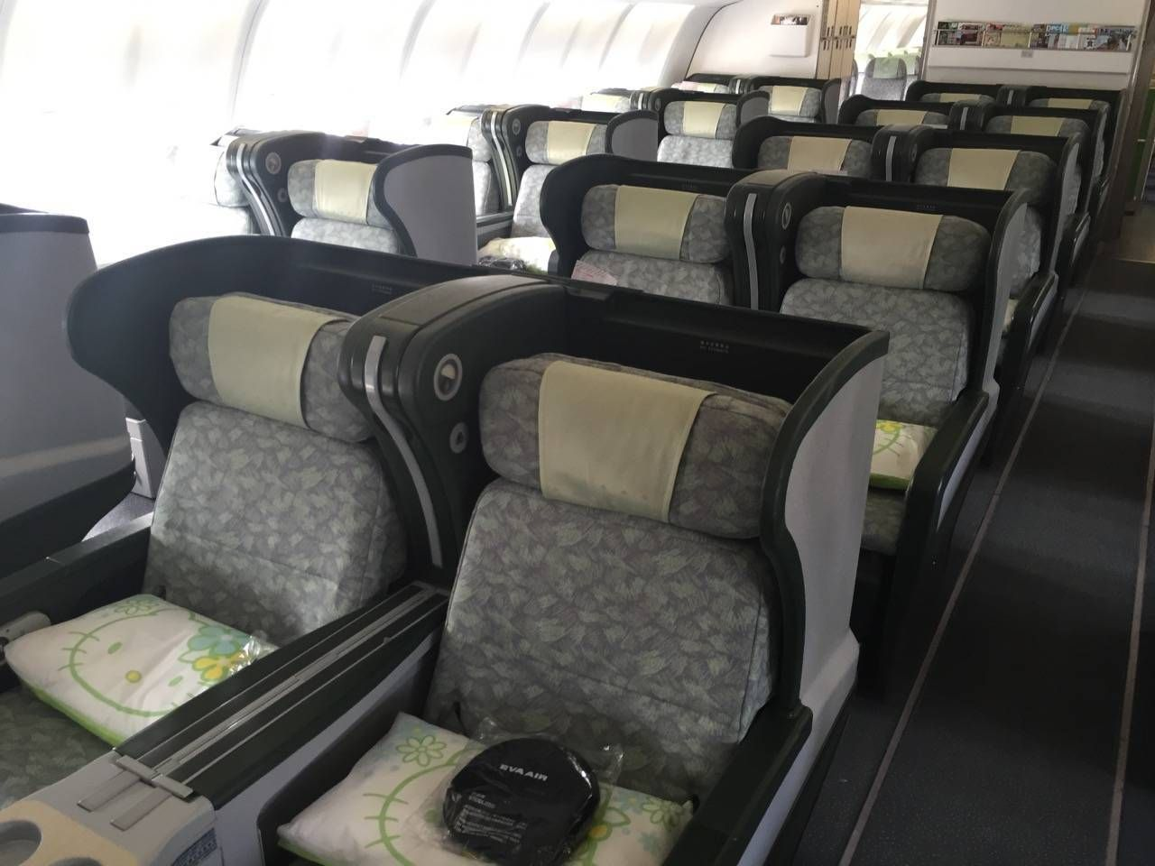 Eva Air A330 Business Class Royal Lauren-08