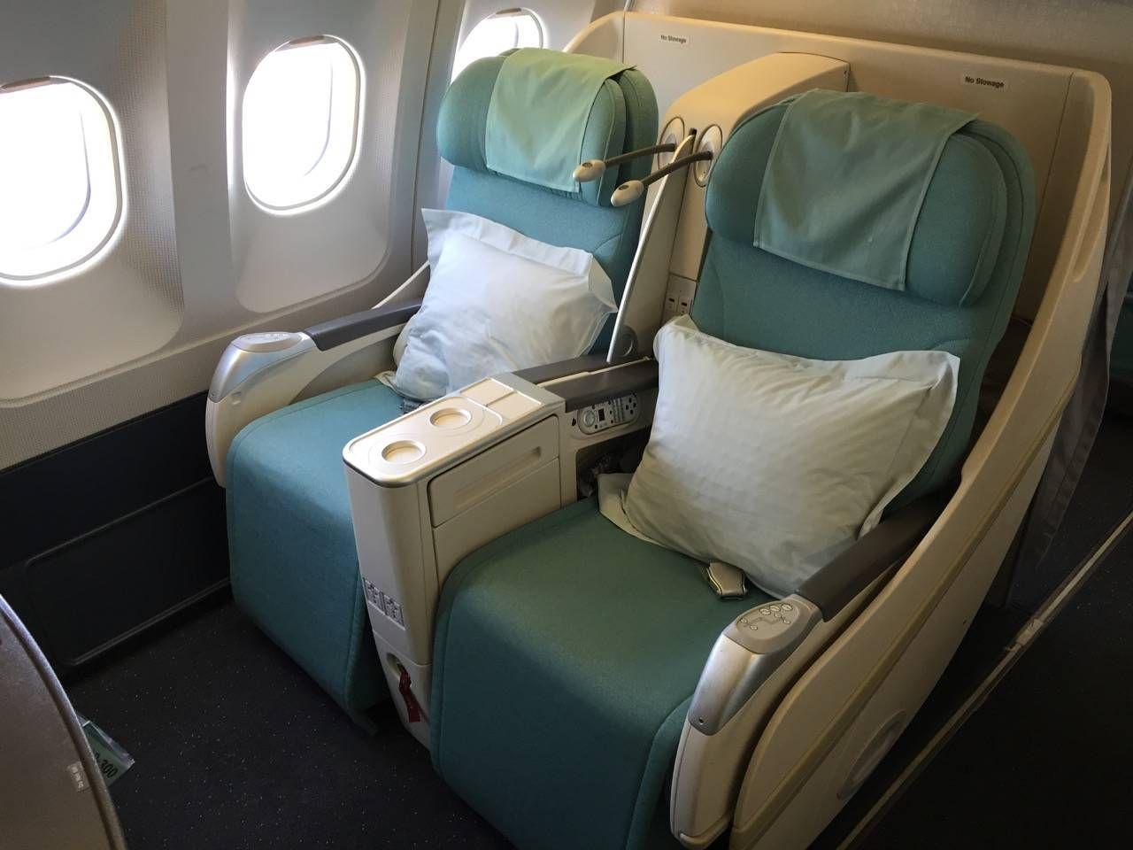 Korean Air First Class A330-01