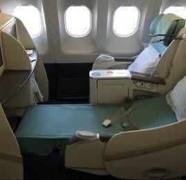 Primeira Classe da Korean Air no A330