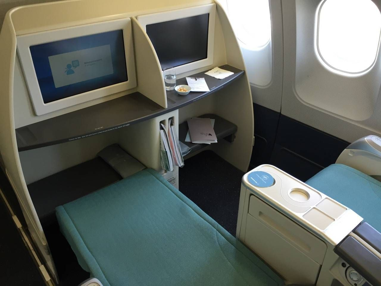 Korean Air First Class A330-021