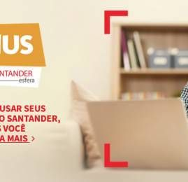 Ganhe até 5 pontos por dólar usando seu cartão de crédito Santander até Agosto