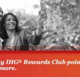 Ganhe 100% de bônus ao comprar pontos IHG Rewards