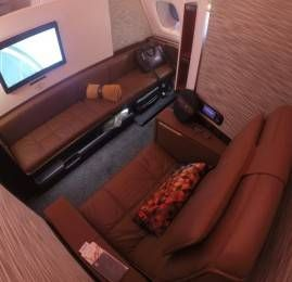 Primeira Classe da Etihad Airways no A380 (First Class Apartment) – Vôo inaugural Abu Dhabi par Sydney