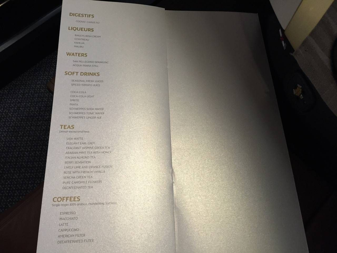 Etihad First Class Apartment Inaugural - AUH-SYD-0123