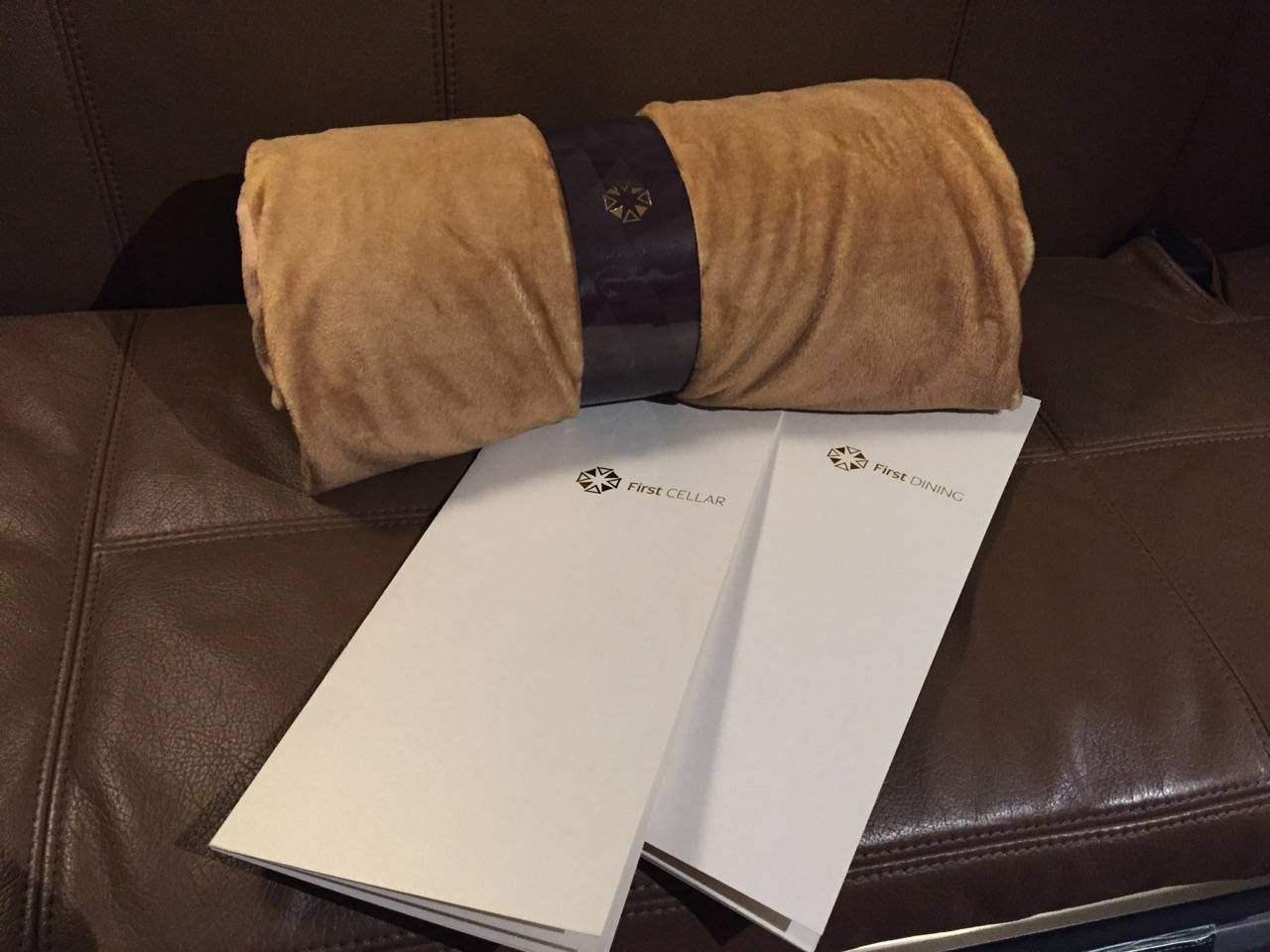 Etihad First Class Apartment Inaugural - AUH-SYD-0137