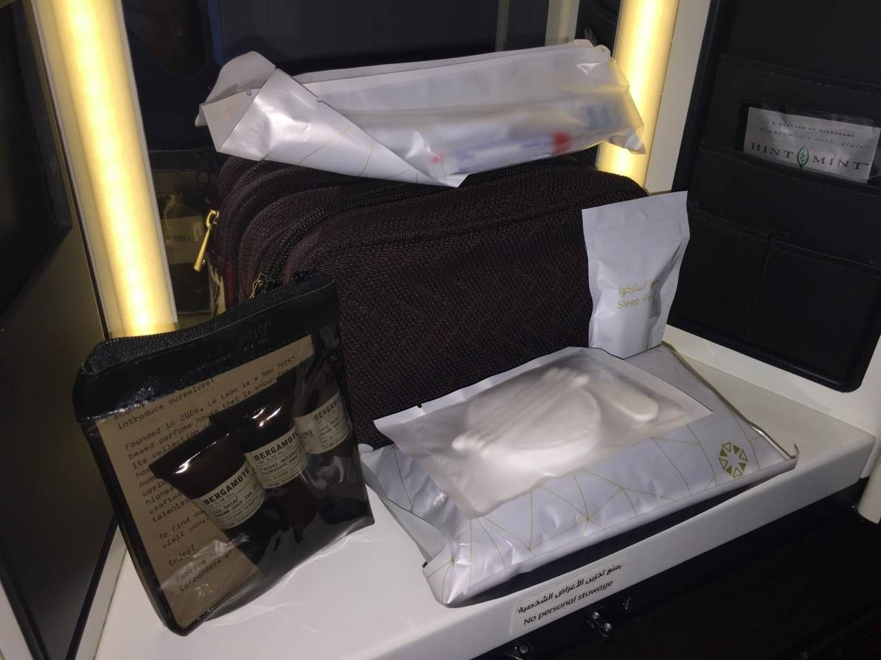 Etihad First Class Apartment Inaugural - AUH-SYD-0140