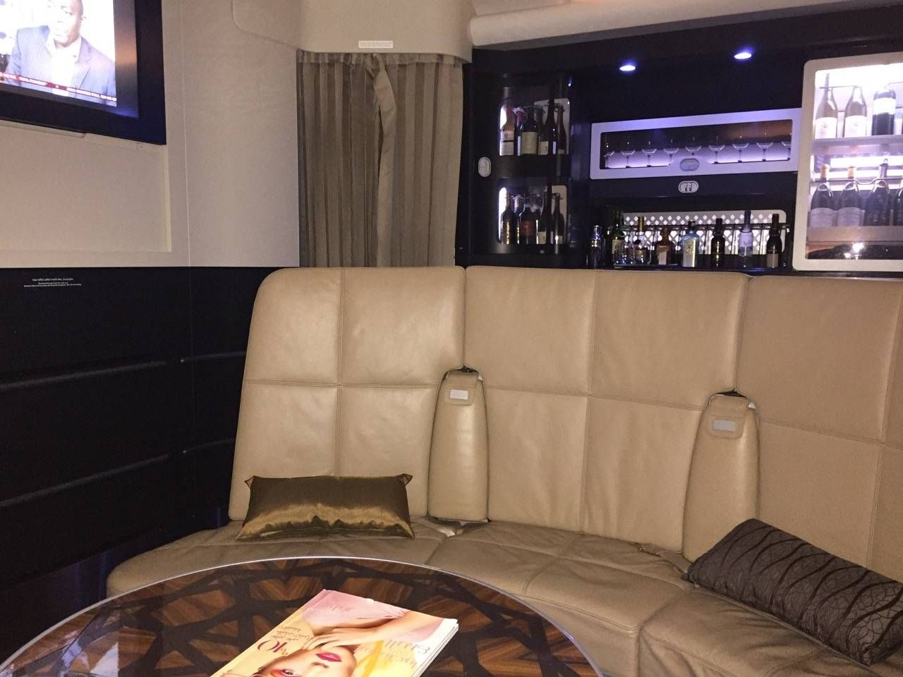 Etihad First Class Apartment Inaugural - AUH-SYD-0151