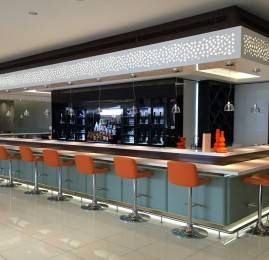 Sala VIP Etihad Premium Lounge – Aeroporto de Abu Dhabi (AUH)