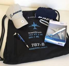 Resultado do sorteio do Kit da Boeing