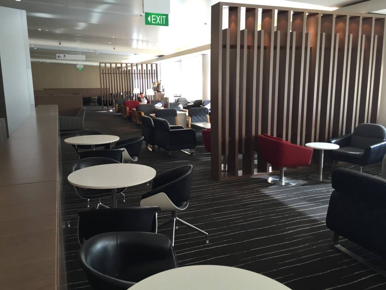 Qantas Business Lounge Sydney -024