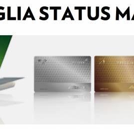 Alitalia está oferecendo Status Match