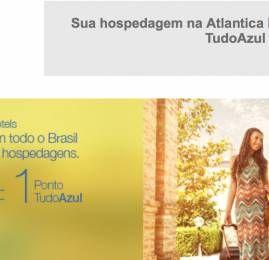 TudoAzul anuncia parceria com Atlantica Hotels para acúmulo de pontos