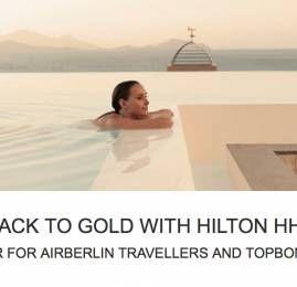 Ganhe status Gold no Hilton HHonors com apenas 3 estadias