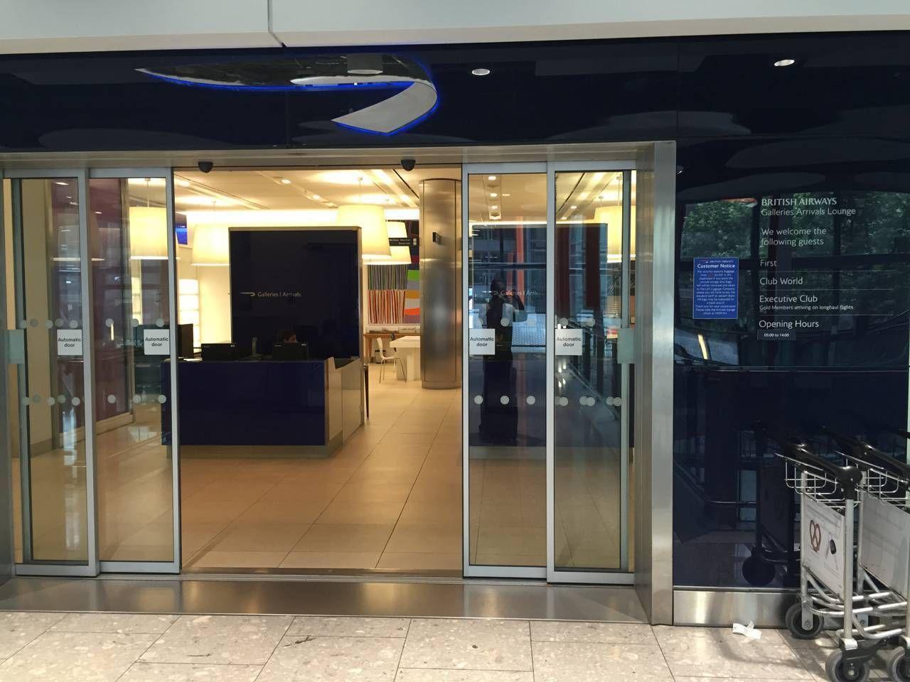 British Airways Arrival Lounge T5-042