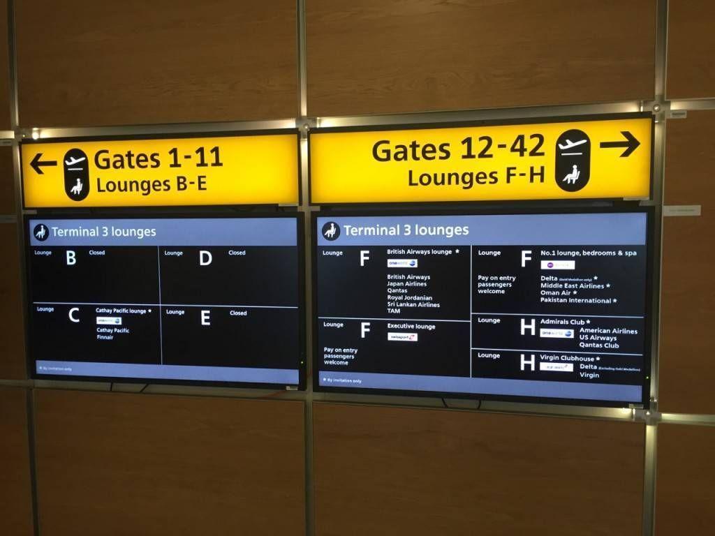 British Airways Galleries Lounge T3-015