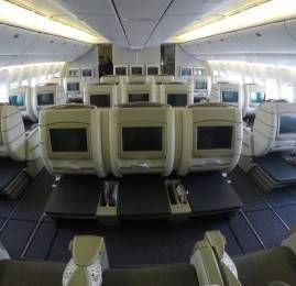 Classe Executiva da TAM no B777-300ER – São Paulo para Miami