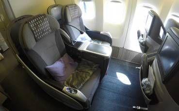 Classe Executiva da JAL no B777-200 – Tóquio para Hong Kong
