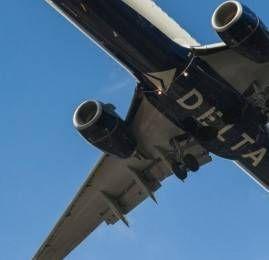 "Delta começa a pintar a ""barriga"" dos aviões"