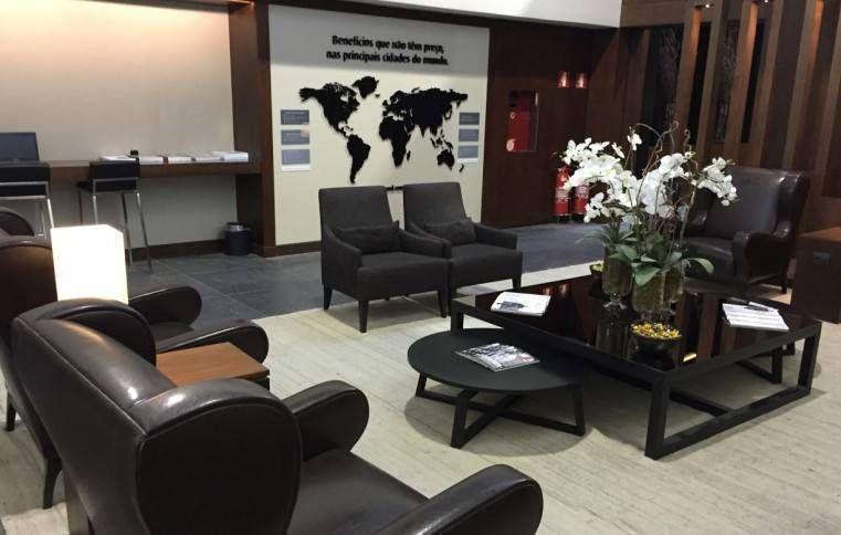 Sala VIP Mastercard Black – Aeroporto de Guarulhos (GRU)