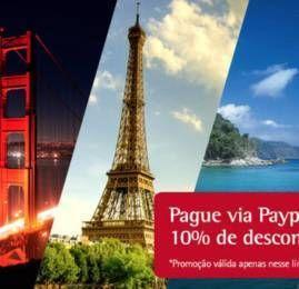 TAM oferece 10% de desconto nas passagens para pagamento via Paypal