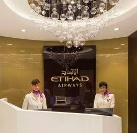 Etihad Airways reabre lounge no Terminal 1 em Abu Dhabi