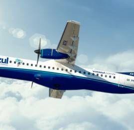 Azul padroniza frota de turboélices com operação exclusiva de ATR 72-600
