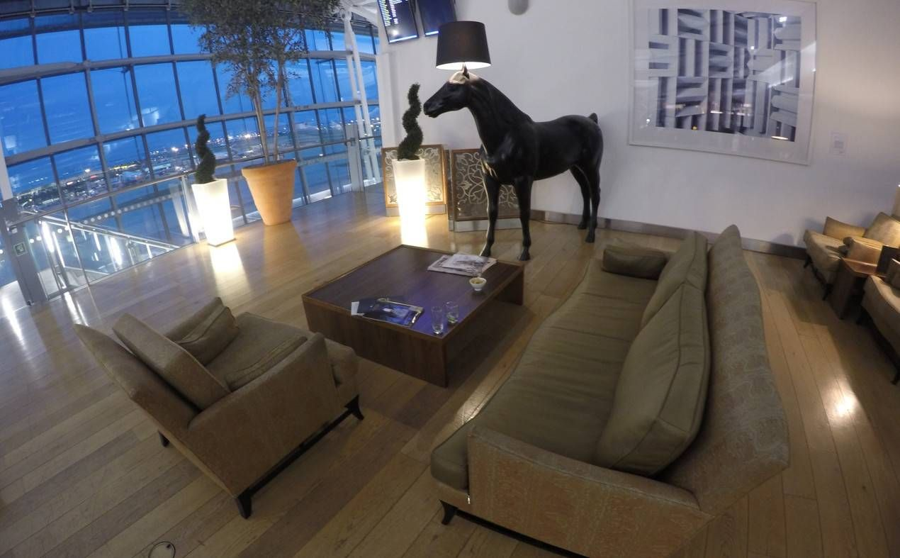 Sala VIP Concorde Room by British Airways – Aeroporto de Londres (LHR)