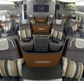 Lufthansa termina retrofit de todas as aeronaves com a nova Business Class