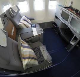 Classe Executiva da Lufthansa no B747-8 – Frankfurt para São Paulo