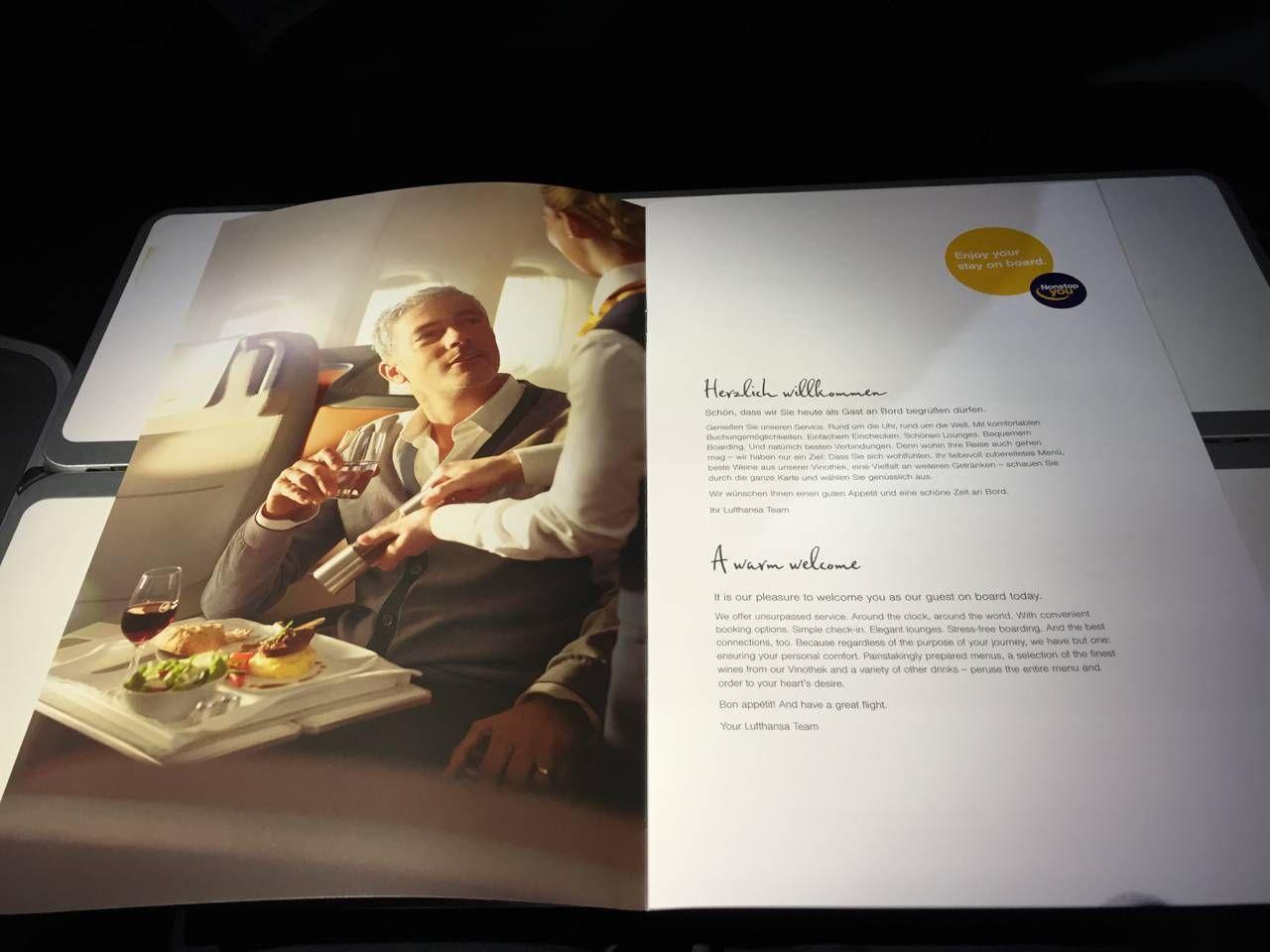 Lufthansa Business Class B747-8-024