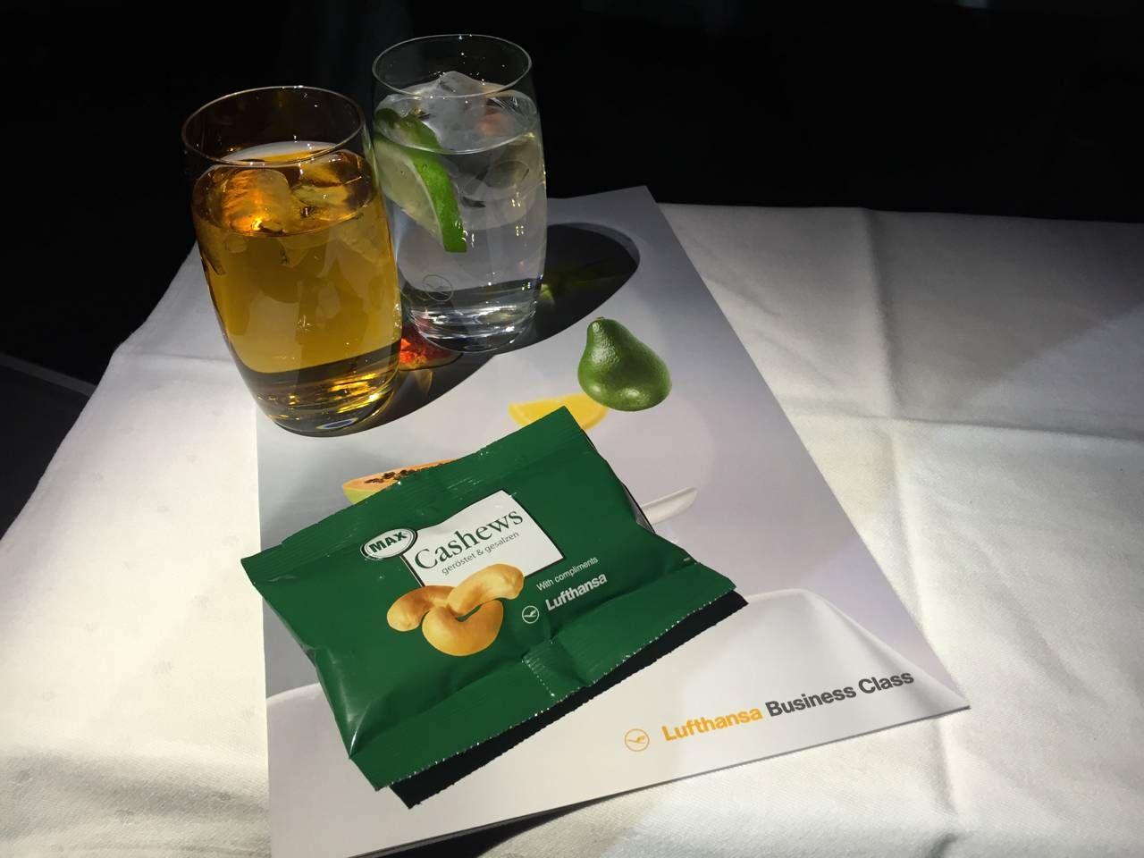 Lufthansa Business Class B747-8-029