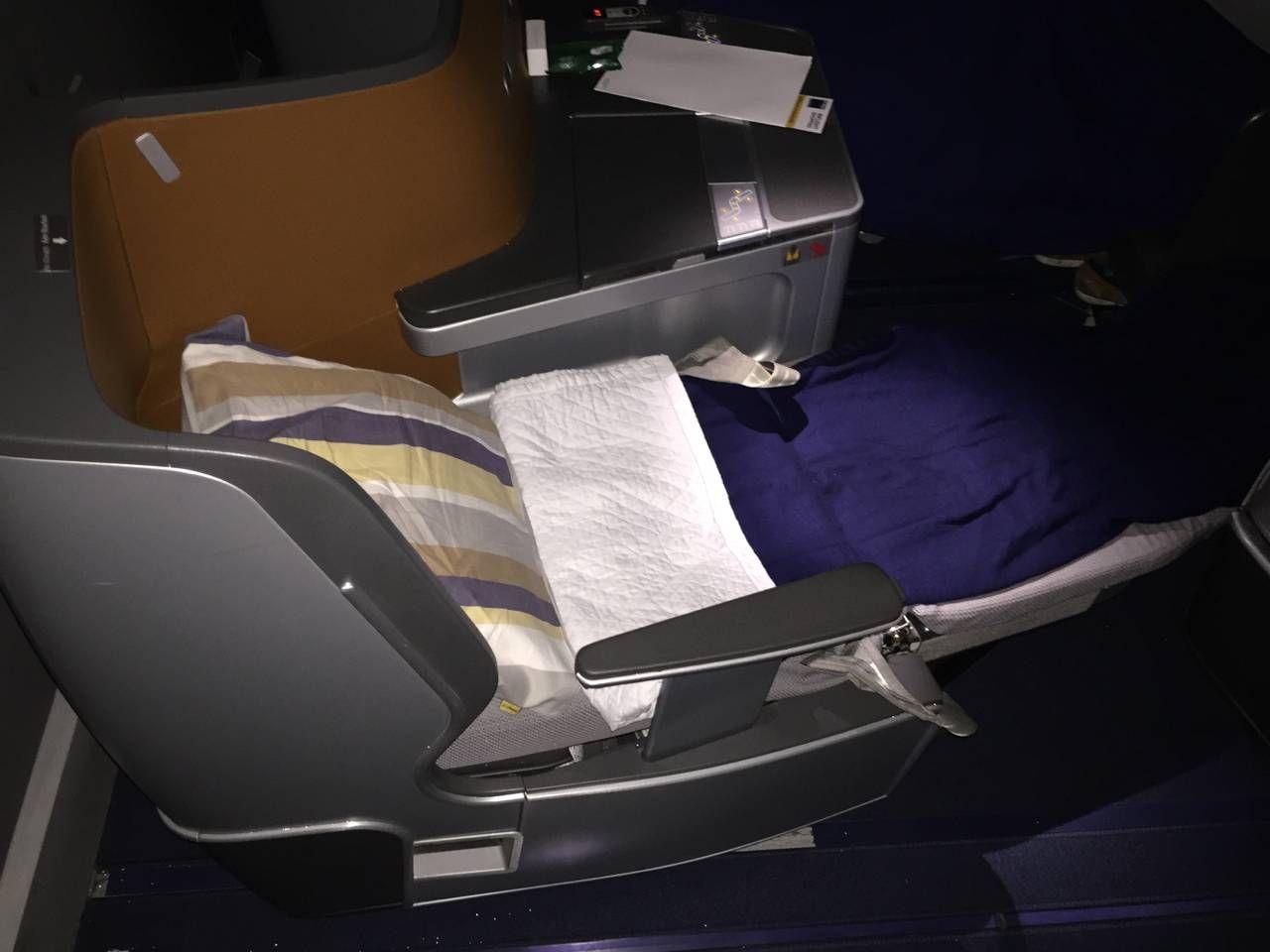 Lufthansa Business Class B747-8-036