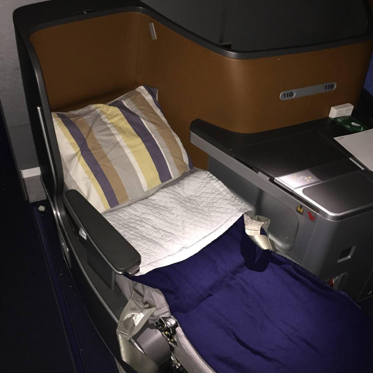 Lufthansa Business Class B747-8-038