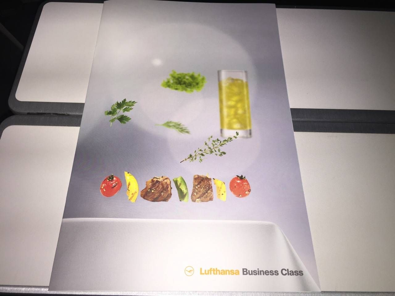 Lufthansa Business Class Executiva B747-8-07