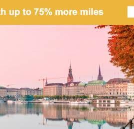 MileagePlus da United oferece até 75% de bônus na compra de milhas