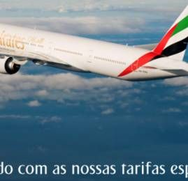 Emirates oferece desconto especial para clientes do Yahoo Mail na compra de passagens nas classes econômica e executiva
