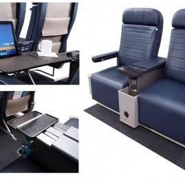 United Airlines inaugura novos assentos premium em mais de 200 aeronaves