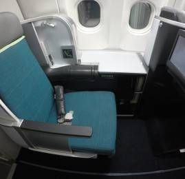 Classe Executiva da Aer Lingus no A330 – Boston para Dublin