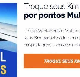KM de Vantagens prorroga promoção de transferência para a Multiplus com bônus