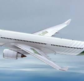 Alitalia acelera sua recuperação e busca lucratividade até 2017