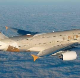 Etihad Airways irá voar para Melbourne com o A380